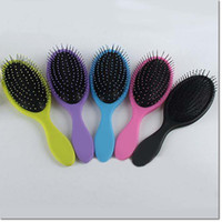 plastic hair comb - make up tools wet hair brushes brush massage brush plastic airbag Detangling combs for women girls family brushes comb colors for choose