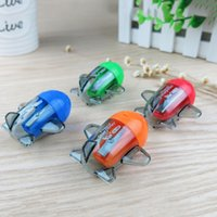 New aircraft schools - Mini Kawaii Candy Color Aircraft Airplane Shape Mechanical Pencil Sharpener Knife Papeleria Sacapuntas Office School Decor pc