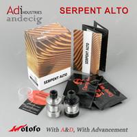 alto tank - Original Wotofo Serpent ALTO RTA Tank FOR Lost Vape evolv dan75 dna200 dna250 Hcigar vt75 vt250 box mod