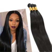 Wholesale Mini Hair Brazilian Bulk Hair Human Straight Brazilian Hair Bulks