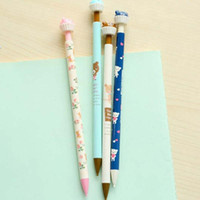 Wholesale 10 Mechanical Pencils Cute Novelty High Quality Auto Lead Pencils Kids Stationery for School Office Writing Pencil Material Escolar