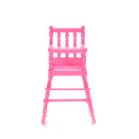 baby doll high chair - 1PCS Hot Selling New High Chair For Doll s House Furniture Play Doll House Toy For Baby Girls Doll Accessories