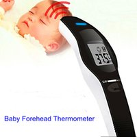 Wholesale Health Care CE FDA Non Contact Digital Forehead Infrared Thermometer Body Temperature Baby Adult Medical Equipment