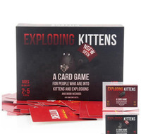 Wholesale Cards for Humanity Christmas party game Exploding Kittens NSFW Edition and Original Edition