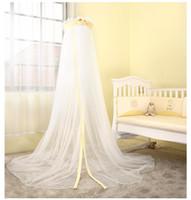 Wholesale Crib Netting Deluxe Floor baby cot mosquito net nursery bedding Bhella garden Teddy Bear