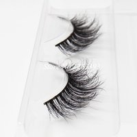 Cils de scène Avis-Naturel Long Crisscross Messy Soft Mink Pancre Faux Pure Handmade Coton Tige Fake Eyelashes Beauté Makeup Stage Lashes