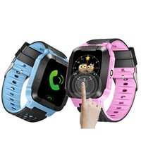 2017 Touch Screen Q528 WatchAnti-lost Children Kids Smart Watch LBS Tracker Wrist Watchs SOS Call For Android IOS