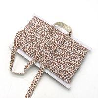 Wholesale 5 elastic ribbon hair tie DIY in stock fashion inch leopard print elastic band baby headband DIY