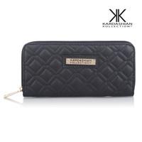 Wholesale Kk Wallet Long Design Hot Selling Women Wallets PU Leather Kardashian Kollection High Grade Clutch Bag Zipper Coin Purse Handbag