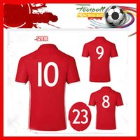 Wholesale Top Thailand football shirt camisetas de futbol SANCHEZ VALDIVIA MEDEL VIDAL football shirt ALEXIS high quality