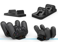 Wholesale 5V USB Port Dual Charging Dock Station Stand For Sony PS4 Wireless Controller For PlayStation Charger Dock