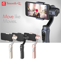 axis camera wireless - Zhiyun Smooth Q Axis Handheld Gimbal Camera Stabilizer Wireless Control Panorama Mode for Smartphone quot to quot D4623