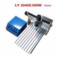 Wholesale free duty to russian Engraving machine mini cnc machine Z W DC spindle axis wood Router Milling Machine for metal cutting