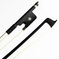 Wholesale New Black Carbon Fiber Viola Bow Sweet Tone for Profession great performance