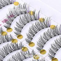Acne Treatment acne fashion - 2016 Top Fashion Sale Beauty Maquiagens Unique Handmade Pairs Makeup False Eyelashes With Purple Eye Lashes Cosmetics