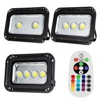 Wholesale Super Bright LED Flood Light W W W LED Floodlights RGB Warm Cool White LED Flood Lighting