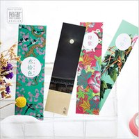 ancient chinese writing - Pack Ancient chromatography Chinese traditional hand tattoo Bookmark Paper Cartoon Film Bookmark Writing Card Gift
