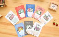 Купить Цветущие сады-Новый творческий цветок сад Sticky Notes клейкой бумаги Memo Pad Post It Office Школьные принадлежности Material Korean Stationery