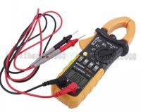 Wholesale Professional Counts Digital AC Clamp Meter w F Back light fluke Multimetro Clamps Leakage HYELEC MS2008A Multimeter MYY
