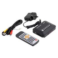 Wholesale 1080P HD USB HDMI Multi TV Media Video Player Box TV video MMC RMVB MP3