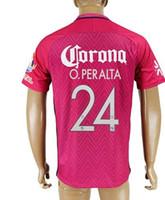 american football team shirts - Customized American team Memorial O PERALTA Soccer Jerseys Shirts tops Thai Quality Football Jerseys P AGUILAR JIMENEZ Soccer wear