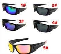 Compra Gafas de diseño fresco-Las gafas de sol estupendas de los deportes al aire libre de las mujeres de los hombres deslumbran los vidrios de Sun de los diseñadores de los anteojos del viento del verano del verano de las lentes de la resina del color liberan el envío