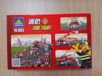 Wholesale Children s educational toys assembled toys fire fighting toys