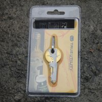 Wholesale EDC in Stainless Steel Multi function Key Clip Camping Tool Outdoor survival gear