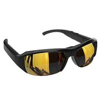 Wholesale Spy Eyeglsses Mini Camera Sunglasses P HD Hidden Cam Camcorder Video DV DVR Recorder