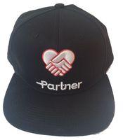 Wholesale Partner headwear custom snapback cap with embroidery logo