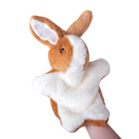 best love stories - LOVE STORY Bunny Hand Puppets Plush Development Hand Puppet Classic Educational Toys Best Gifts for Kids