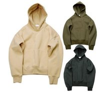 Wholesale Autumn New Fashion Europe and United States Men Solid Simple Casual Hooded Hoodies All match Long Sleeve Men s Pullover Hoodies Sweatshirt