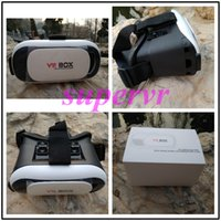 Wholesale New Arrivel hot sell VR Box VR Case Glasses D Virtual Reality Glasses VR Cardboard Virtual for quot Smartphone