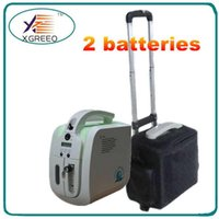 Wholesale 110V V DC12V Battery Oxygen Concentrator Portable Oxygen Generator With Carry Battery and Car Charger for Indoor Outdoor Use