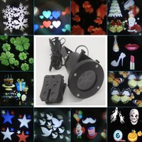 Wholesale Waterproof Projection Lamp Projector LED Light with Replaceable Lens Festival Slides Landscape Lighting For Christmas Halloween Party