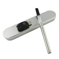 Wholesale BUD touch O pen CE3 kit thread CBD oil atomizer e cigarettes sets vaporizer e cig kits usb steel box kit