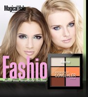 best skin creams for wrinkles - The best make up hot style Magical Halo six color stereo grooming foundation cream d block concealer manufacturer direct for