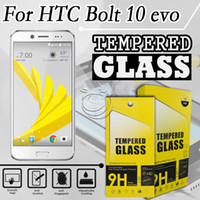 alcatel mobile accessories - Tempered Glass Screen Protector For HTC Bolt Alcatel POP S Mobile Phone Accessories with packing in