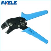 Wholesale SN Mini European Style Wire Crimping Pliers Terminal Clamp Pliers AWG Wire Crimping Tool Crimping Plier mm2