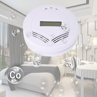Wholesale LCD Digital Home Safety CO Carbon Monoxide Poisoning Smoke Gas Sensor Automatic Warning Alarm Detector Kitchen EU FULI