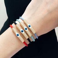 bar turkeys - 2016 fashion charm jewelry k gold plated copper turkey evil eye bracelets for women the best gift
