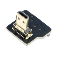 Wholesale FPV Micro HDMI Type D Male Down Angled Degree for FPV HDTV Multicopter Aerial Photography