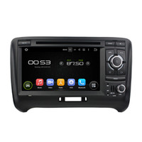 Wholesale 7 inch HD Capacitive multi touch screen Android quad core car dvd gps player for Audi TT