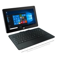 Wholesale 11 inch Windows Intel Tablet PC G Quad Core in Tablet pre installed licensed Windows home IPS Screen With Detachable Keyboard