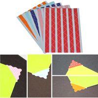 Wholesale 78pcs sheets PVC Photo Corners Stickers For DIY Album Stamp Decorative Corner Stickers Scrapbooking
