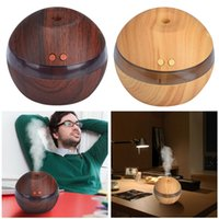 Wholesale Air Aroma Essential Oil Diffuser LED Ultrasonic Aroma Aromatherapy Humidifier Incense