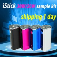 adjustable voltage adapter - istick W iStick W Mod battery mah Variable Voltage iStick W mah with USB cable eGo adapter Fit Subtank Mini protank DHL free