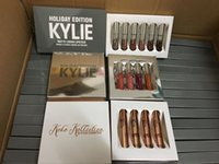 Wholesale more stock Kylie Holiday Edition Kit and Matte kylie jenner Liquid lipgloss KOKO Collection Set For Christmas Gift from idea
