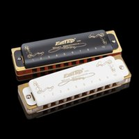 Wholesale Musical Woodwind Instrument Set Easttop Harmonica Diatonic Hole Armonica Blues Instrumentos Musicales C key Harmonica