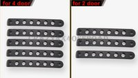 Wholesale Aluminum Door Handle Cover Bar Moulding Fit for JEEP Wrangler Jk D D for JEEP parts wrangler accessories